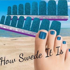 How Swede It Is Color Street Pedicure Nail Strips